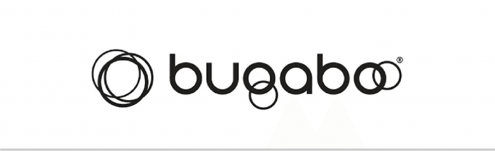 Bugaboo logo in zwart-wit